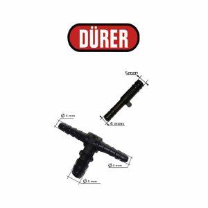Connecteur pour tuyau lave glace ALG10213K DÜRER