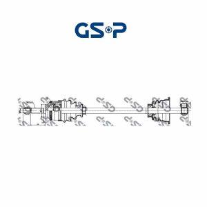 Arbre de transmission 250004 GSP