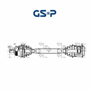 Arbre de transmission 261019 GSP