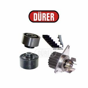 Kit de distribution avec pompe à eau PA121051 DÜRER