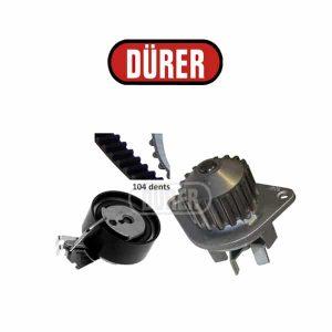 Kit de distribution avec pompe à eau PA121115 DÜRER