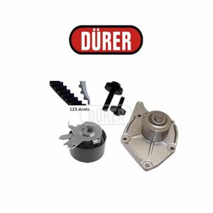 Kit de distribution avec pompe à eau PA161106A DÜRER