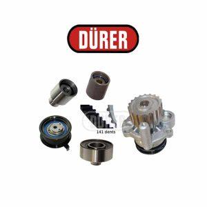 Kit de distribution avec pompe à eau PA181142 DÜRER