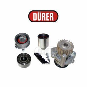Kit de distribution avec pompe à eau PA181162 DÜRER