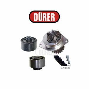 Kit de distribution avec pompe à eau PA221051 DÜRER