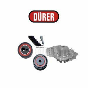 Kit de distribution avec pompe à eau PA521082 DÜRER