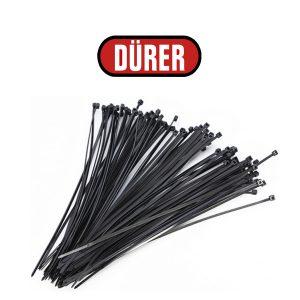 Collier de serrage noir 78710CS DÜRER 200x3.5mm