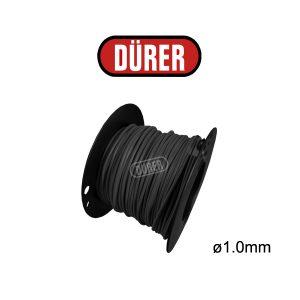 Bobine de câble 1mm² noir 50M BC10N50 DÜRER